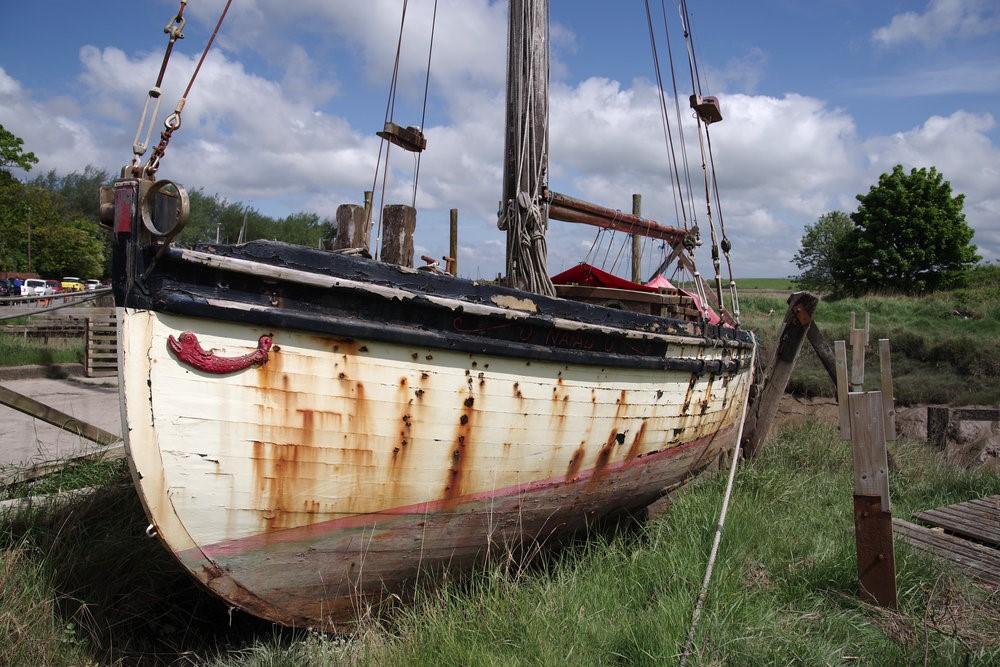 Заброшенные лодки
