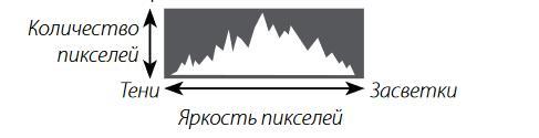 Гистограммы служат для отображения распределения оттенков в изображении.