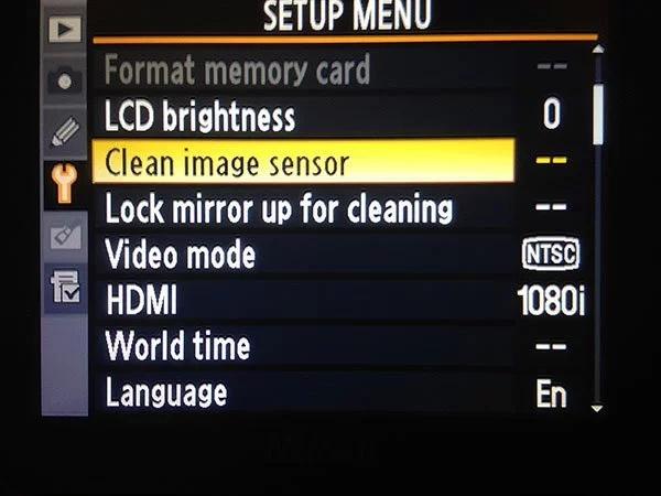 Как правильно чистить матрицу камеры