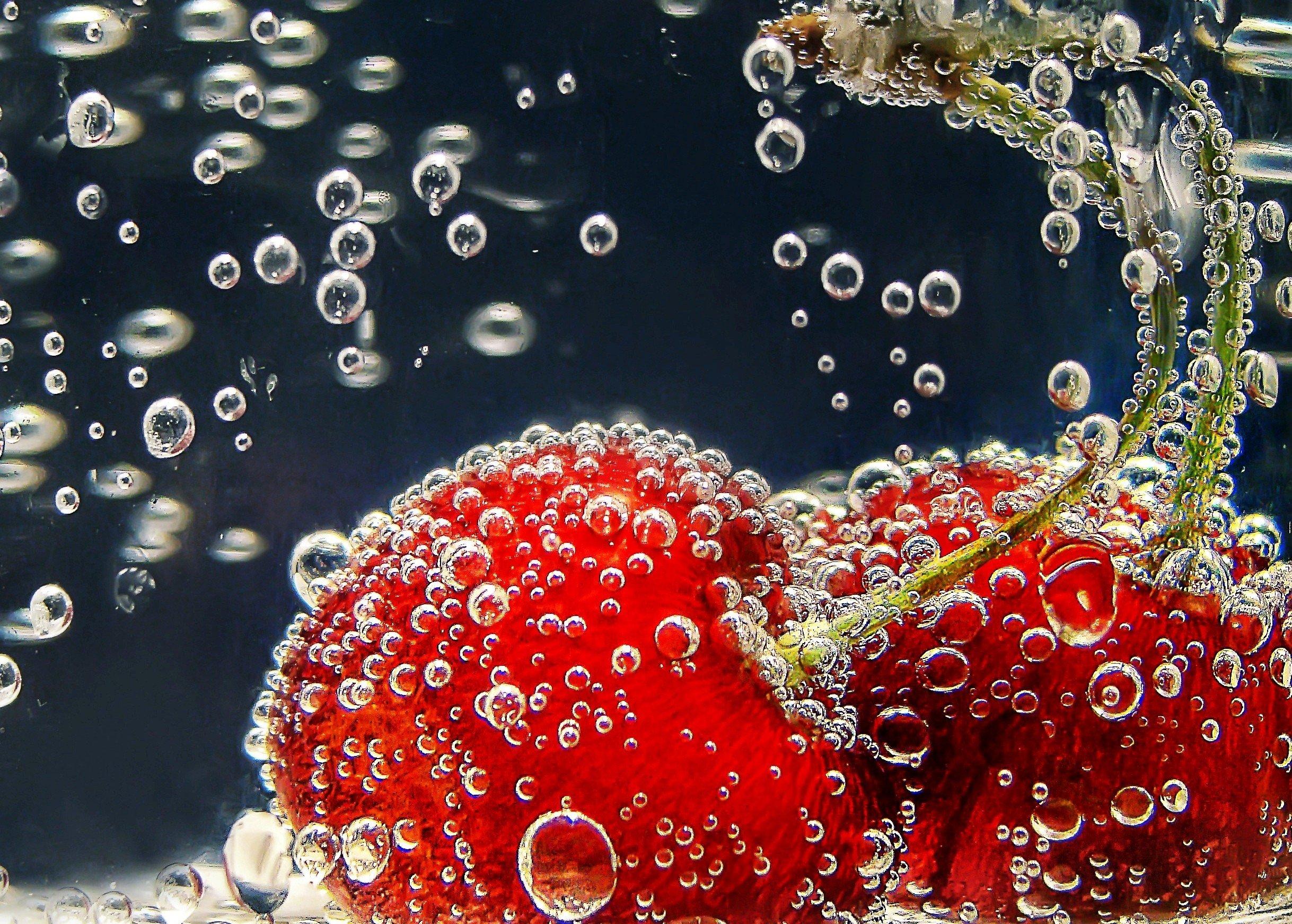 Как фотографировать ягоды с пузырями
