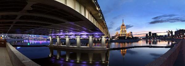 Панорамы ночного города
