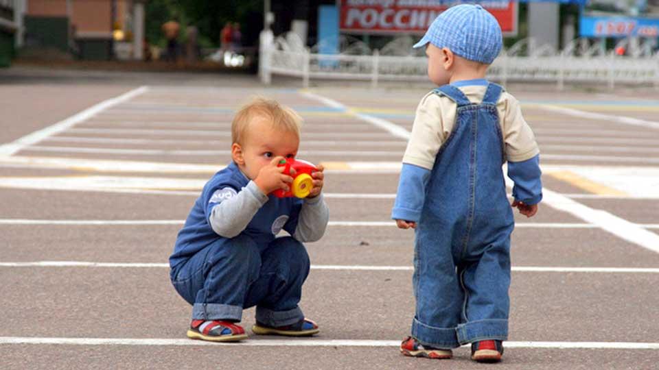 Фотографируйте на уровне роста ваших детей