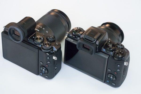 EOS M6 и EOS M5