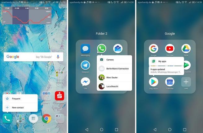 от  emui8.0 вы можете ожидать все атрибуты Android Oreo