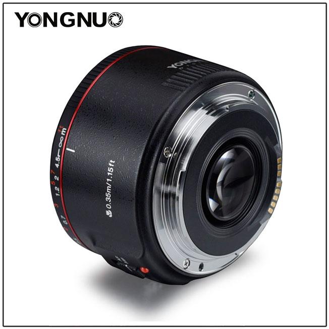 Анонсирован новый объектив Yongnuo YN 50mm f/1.8