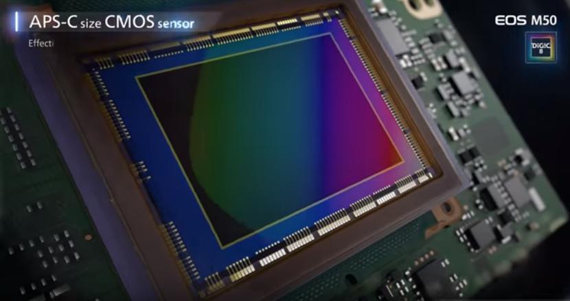 24,1-мегапиксельный CMOS-сенсор APS-C формата