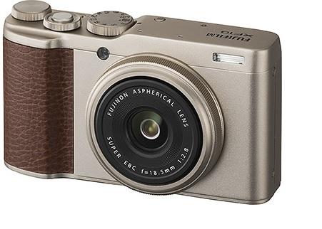 Обзор Fujifilm XF10 золотое шампанское