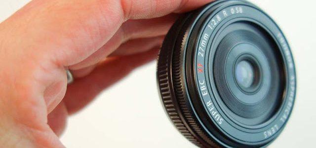 Обзор и мнение о Fujinon XF 27mm F2.8