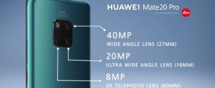 Huawei Mate 20 Pro — Камера