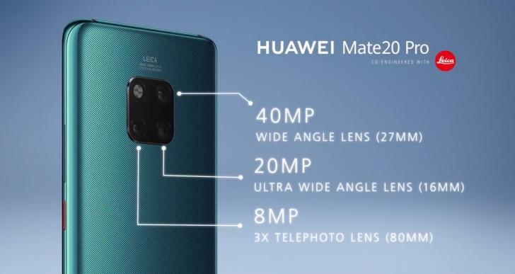 Huawei Mate 20 Pro - Камера