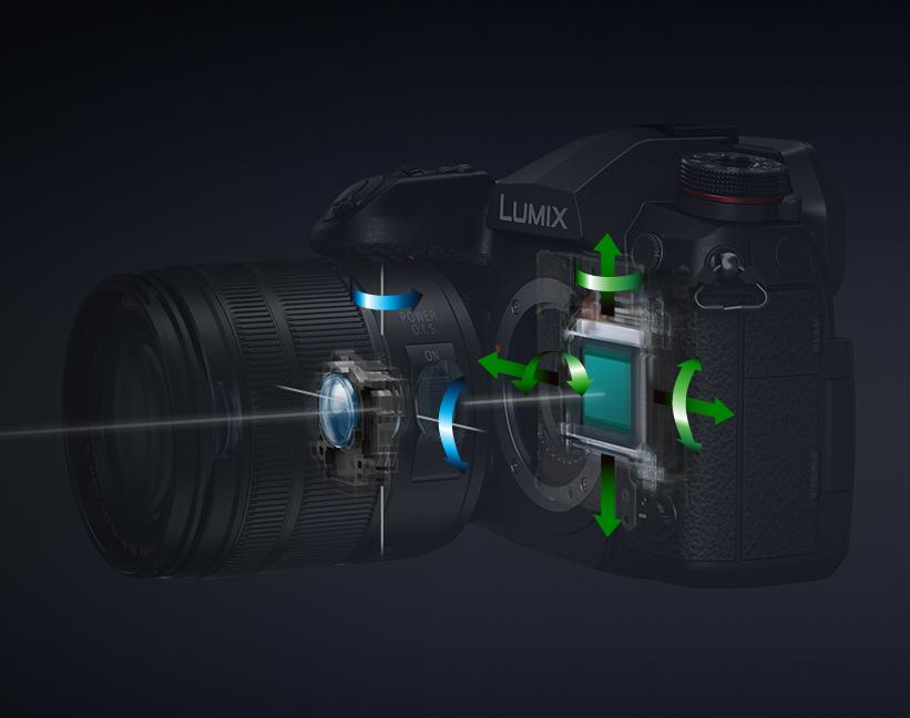 5-осевой стабилизатор Panasonic G9