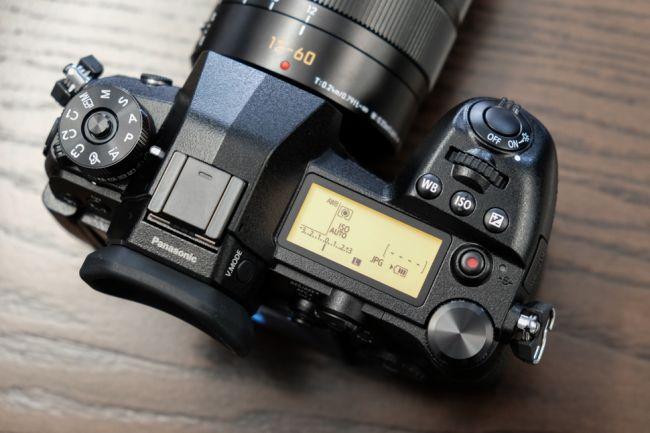 Эргономика Panasonic Lumix G9