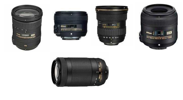 Лучшие объективы для Nikon D3500