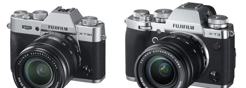 Fujifilm X-T30 — Fujifilm X-T3 — 10 основных отличий