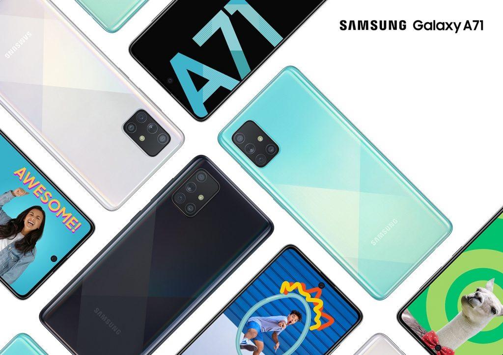 Обзор камеры Samsung Galaxy A71