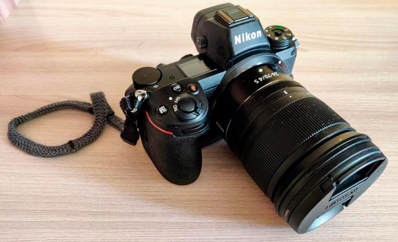 Дизайн и эргономика Nikon Z6