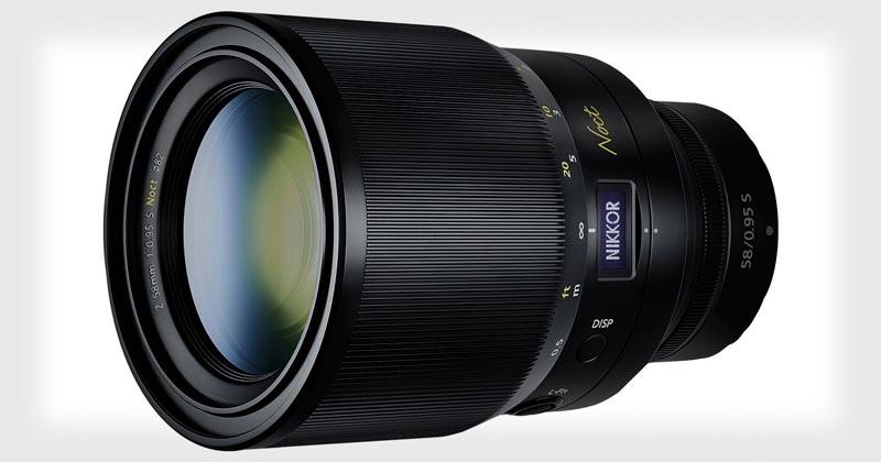 Объектив Nikon NIKKOR Z 58mm f/0.95 S Noct