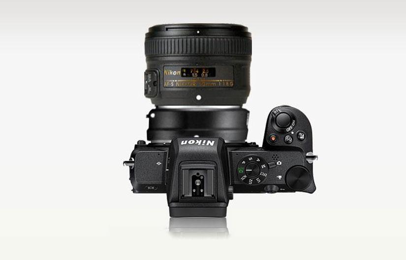 Портретный объектив для Nikon Z50 - Nikon 50mm F1.8