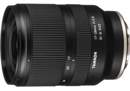Tamron 17-28mm f / 2.8 Di III RXD Lens - лучший бюджетный объектив для видеоблогов