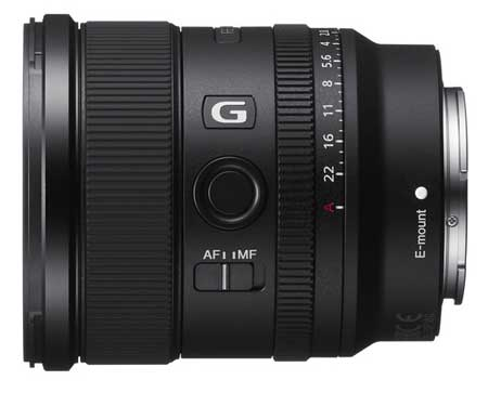Sony F20mm F1.8 - лучший бюджетный объектив серии Gmaster для камеры Sony A7C.