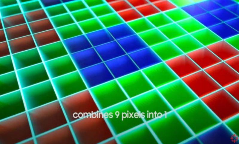 Samsung заявляет, что использует обновленный алгоритм демозаики для вычисления значений RGB для всех пикселей