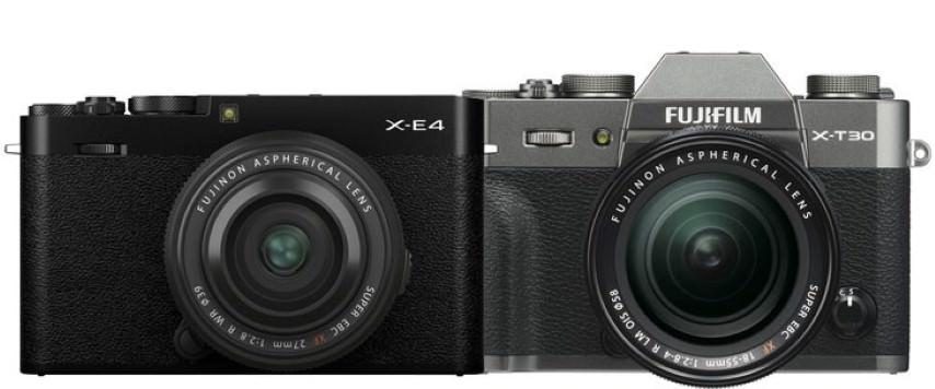 Что выбрать Fujifilm X-E4 или Fujifilm X-T30 Сравнение параметров