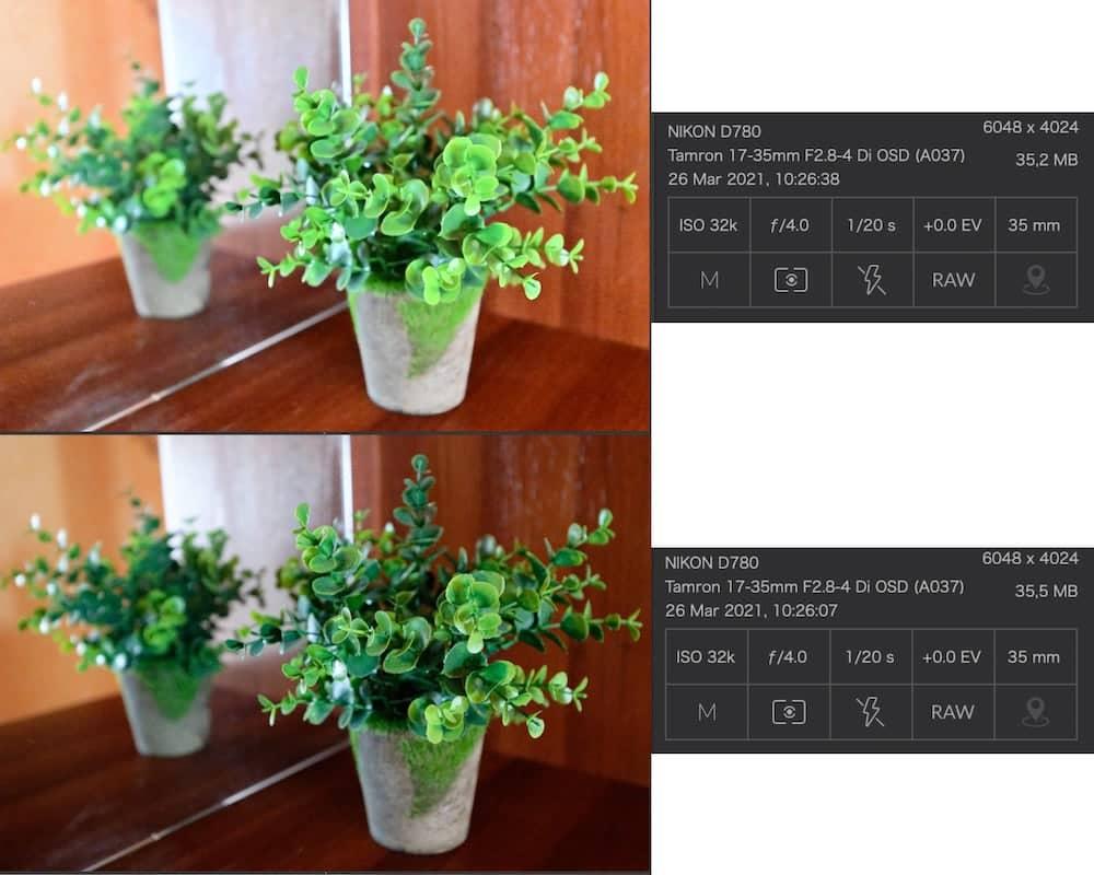 Настройка в фотоаппарате - формат файла JPEG или RAW