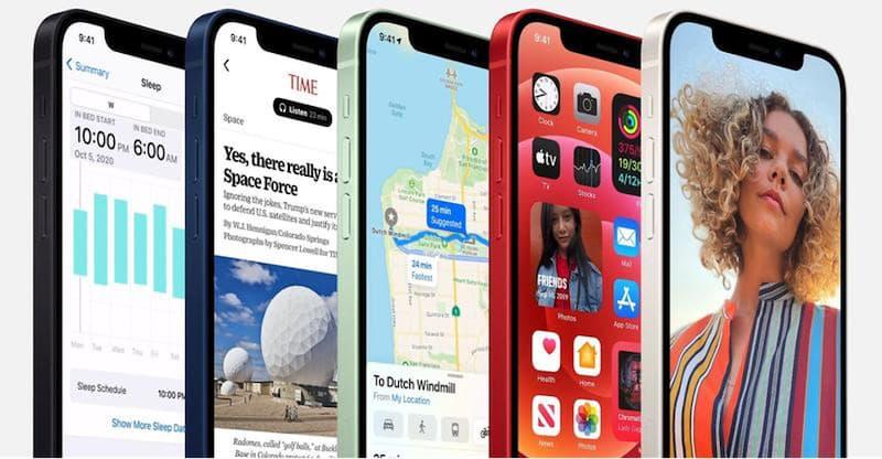 iPhone 12 цвета