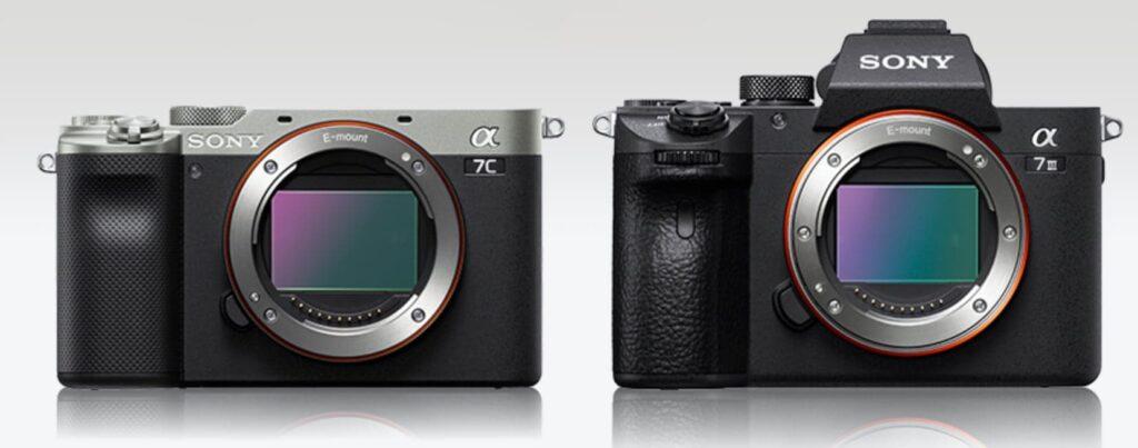 Что отличается Sony a7C и a7 III – это размер
